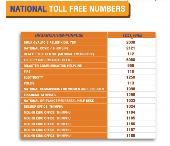 National Toll free
