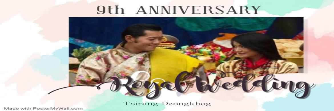 Felicitations on 9th Royal Wedding Anniversary